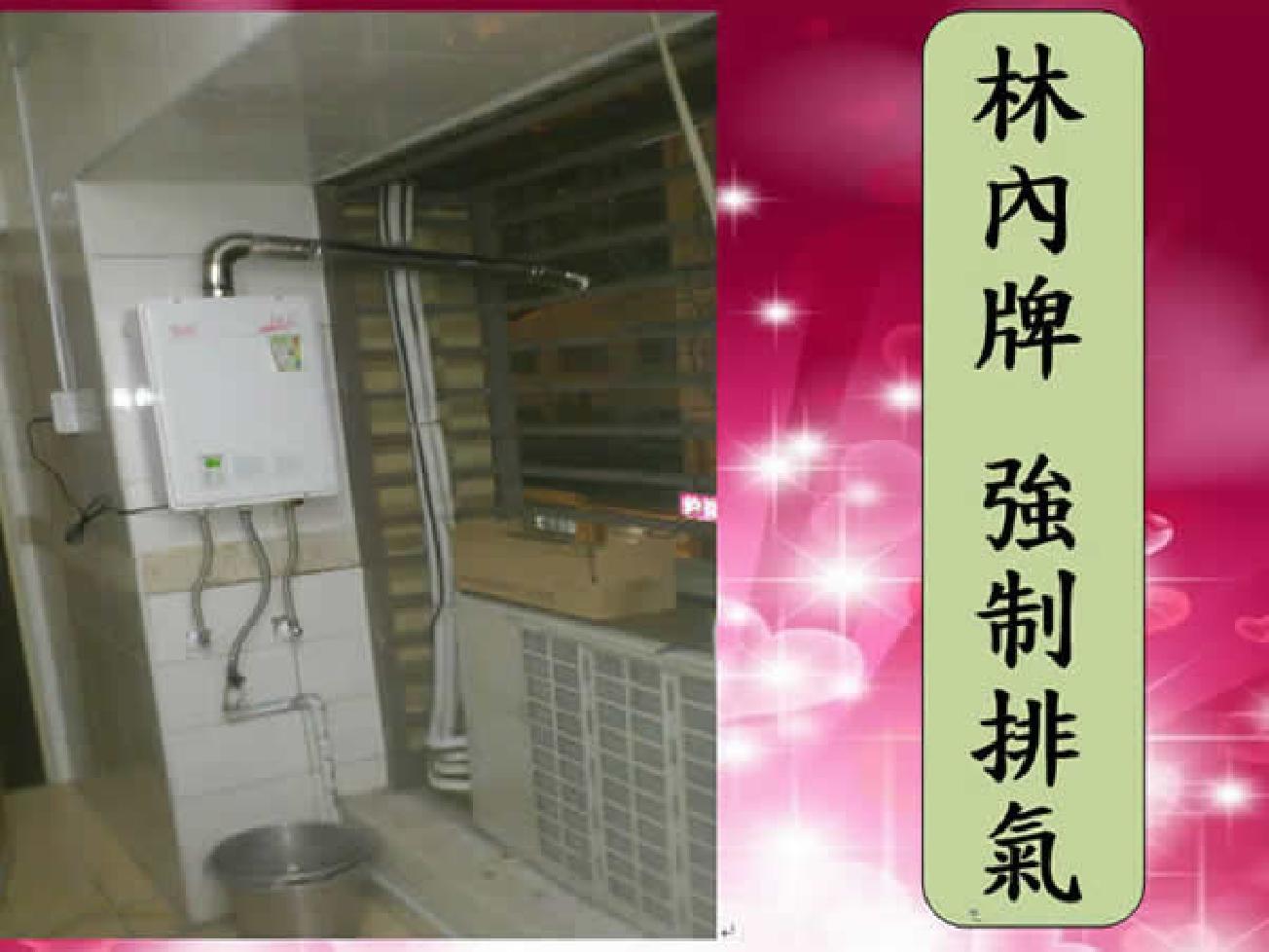 林內牌電熱水器-強制排氣