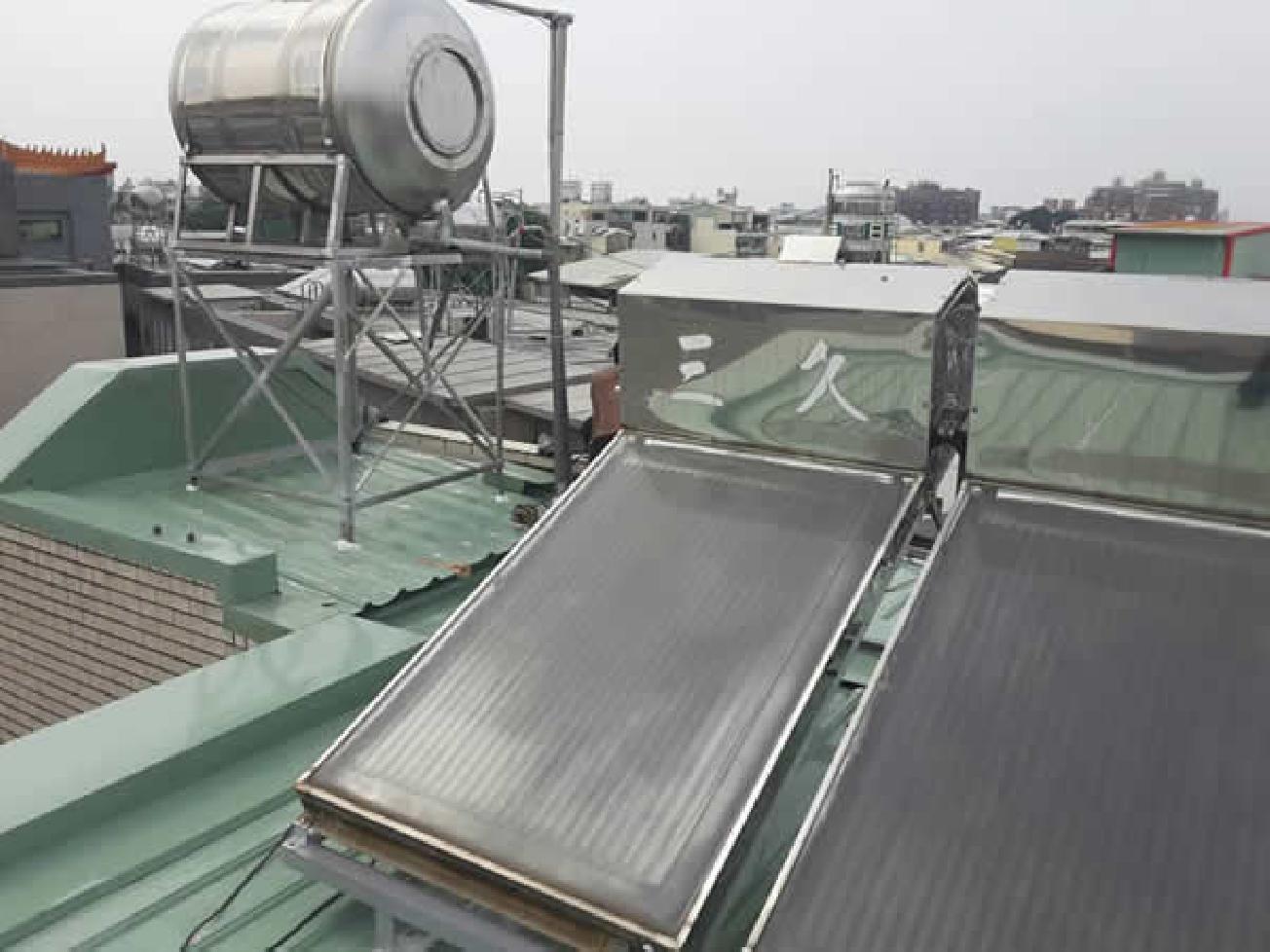 太陽能熱水器安裝