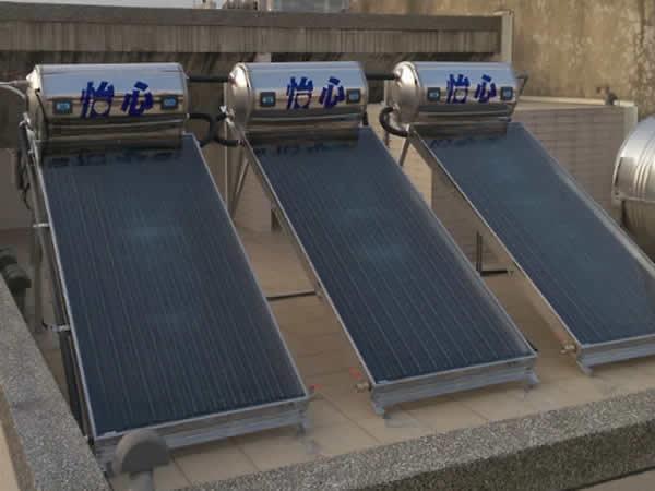 共27台(3桶3片)怡心牌太陽能熱水器